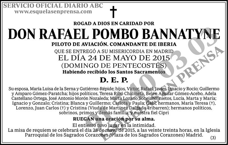 Rafael Pombo Bannatyne